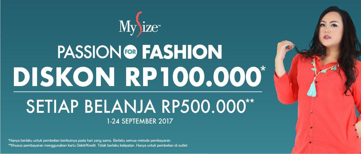 My Size Passion For Fashion