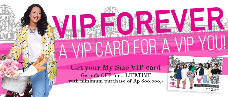MySize VIP Member Card
