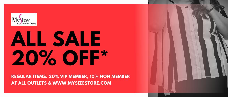 MySize Holiday Sale