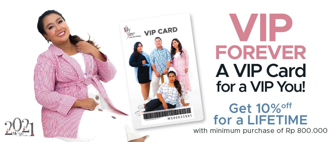My Size VIP Member Card