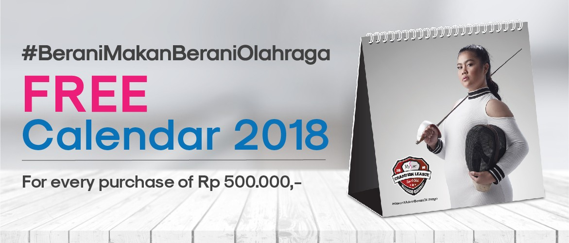 My Size Calender 2018