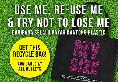 My Size Recycle Bag